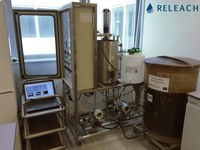Sequencing Batch Reactor assay for leachate pre-treatment